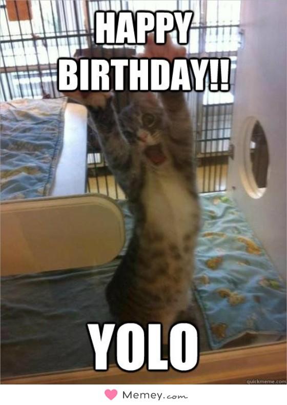 Happy birthday!! YOLO